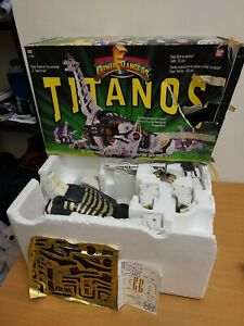Mighty Morphin Power Rangers MMPR Titanos Titanos Megazord Boxed 1993 90s