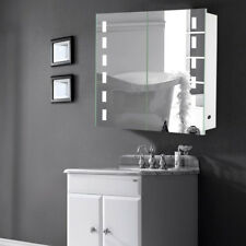 Bluetooth LED Illuminated Mirror Bathroom Cabinet Cupboard Shaver Motion Sensor