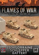 Flames of War 15cm Lorraine Schlepper Battery German FOW GBX95
