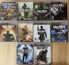 Call of Duty games (Playstation 3) Ps3 Tested