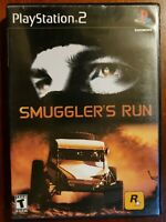 Smuggler's Run (PS2, PlayStation 2, 2002) Tested Complete with Manual