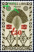"COLONIES MADAGASCAR N° 286 NEUF* Variété ""2 POINTS AVANT POSTES"""