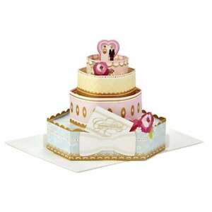 Hallmark Paper Wonder Congratulations Wedding 3D Pop Up Card 25522159