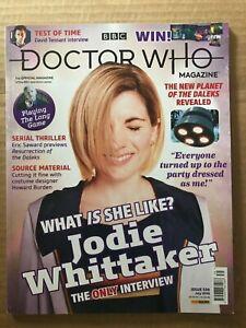 DOCTOR WHO MAGAZINE #539 (NEW UNREAD) JODIE WHITTAKER INTERVIEW DAVID TENNANT