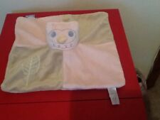 THE GRO COMPANY ORLA OWL BABY COMFORTER BLANKET BLANKIE SOOTHER PINK/CREAM