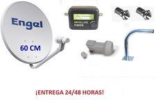 ANTENA PARABOLICA ENGEL 60 CM. + LNB + LOCALIZADOR SATELITE + SOPORTE WIFIKIT605