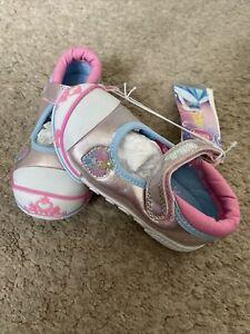 BNWT Baby Girls Disney Cinderella Trainers Shoes Size 6