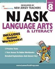 NJ ASK Practice Tests and Online Workbooks - 8th Grade Language Arts and