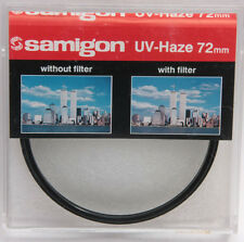 72mm UV Haze Filter - Samigon Photo Lens Filter - Korea - ASEF72UV - NEW G12