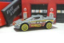 Hot Wheels Loose - Lancia Stratos - Gray - Exclusive - 1:64