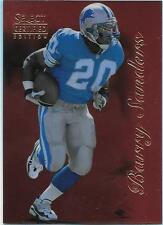 1996 Select Certified Red Barry Sanders Lions