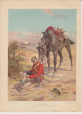 1898 Boys Own Paper print ~ Sympathy by Frank Feller