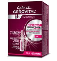 ACIDO IALURONICO FIALE GEROVITAL CONCENTRAZ. 5 % NEW -24% RUGHE +67% IDRATAZIONE