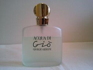 Giorgio Armani Acqua Di Gio 50ml EDT Spray Used Women's Perfume Fragrance