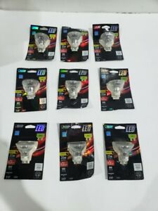 Feit Electric 35W Equiv Warm White Flood Light Bulbs (LOT of 9) BPMR16GU10LEDG2