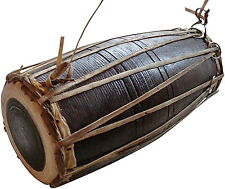 Big Madal Tradicional Musical Instrument Nepali Drum . Hand Made 45 cm long x20""
