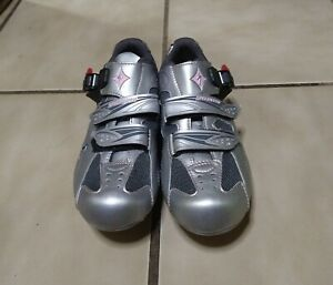 Specialized body Geometry Shoes, Black And Gray, U.S. 7.5, 38, Cycling Shoes