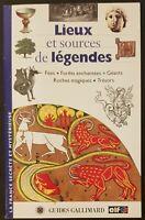 Lieux et sources de légendes - Benoît Laudier - Livre -
