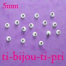 LOT de 125 CABOCHONS petits YEUX MOBILES à coller 3D 5mm perle scrap fimo bijoux