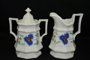Henry Ford Museum Greenfield Village by Iroquois Creamer and Sugar Bowl