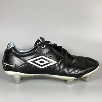 UMBRO Speciali Black Football Boots Size UK 6 Eur 40