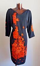 ❄❄MARINA RINALDI by MAX MARA Black Dress PLUS size MR 21_USA W 12_I 50_D 42_GB16