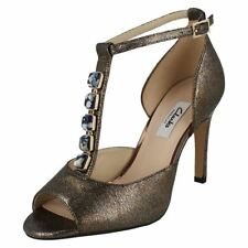 Special Occasion Leather Sandals Heels for Women