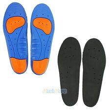 2 Pair X GEL Orthotic Support Insoles Heel Arch Foot Blisters Sport Pad Cushion