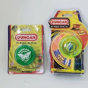 Duncan Pro Z with Mod Spacers Yo Yo & Original Butterfly Translucent Green