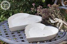Schale Ablage Tablett Set Schlüssel Schmuck Holz Deko Landhaus Shabby French