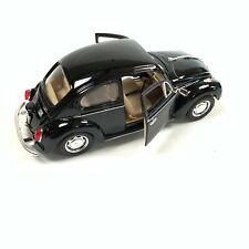 Welly Volkswagen Beetle Diecast Car 1.24 Scale Without Box Black