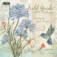 2019 Lang Field Guide Wall Calendar by Susan Winget NEW