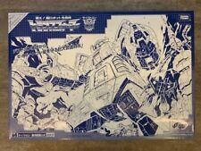 G1 Takara Hasbro E-hobby Ehobby Transformer Blue Omega Supreme 64 MISB Exclusive