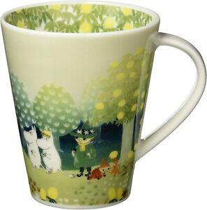 MOOMIN Valley Luonto Porcelain Mug Cup 500ml Hill Yamaka Shoten Made in JAPAN