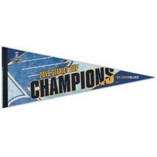 St Louis Blues Wincraft 2019 NHL Stanley Cup Champions 12x30 Premium Pennant