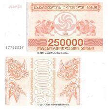 Georgia 250000 Laris 1994 P-50 Banknotes UNC
