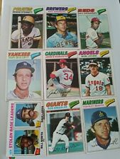 1977 Topps Baseball U-Pick 4 For $1