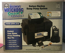 Sump Pump System Glentronics Bwsp Watchdog Special Battery Back Up