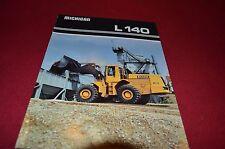 Michigan L140 Wheel Loader Dealer's Brochure DCPA4