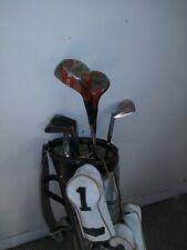Used set of Golf Clubs 1,3,4,5,7 + bag