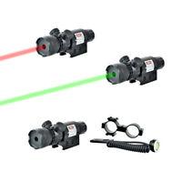 Laser per pistola fucile rosso full metal per slitta weaver da 22 mm carabina