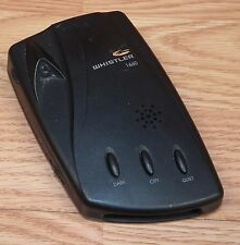 Whistler 1660 Text & Real Voice Radar/Laser Detector Only **READ**