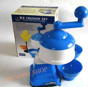 EIS CRUSHER SET Eiswürfelschleifer mit 2 Schalen