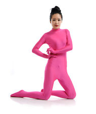 Catsuit S-XXL Costume Women Zentai Spandex Suit Headless Skin Hands Stage Play