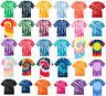 New Men's Tie-Dye Tee Tye Dyed Shirt S M L XL 2XL 3XL 4XL Spiral, Tiger Stipe