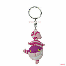 New Blind Bag Walt Disney Cheshire Cat 3-D Figural Keychain Keyring Monogram