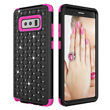 For Samsung Note 9/8/S9/S10 Case Shockproof Armor Hybrid Rubber Hard Phone Cover