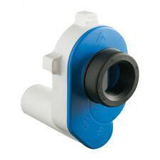Siphon horizontal pour urinoir tuyau DN50 diametre 45mm drainage polyéthylène