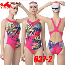 NWT YINGFA 637-2 COMPETITION TRAINING RACING SWIMSUIT XXL US MISS 10-12 Sz 34/36