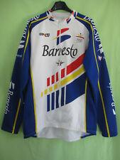 Maillot cycliste Manche Longue Banesto Nalini Barcelona Jersey Vintage 1993 - 7